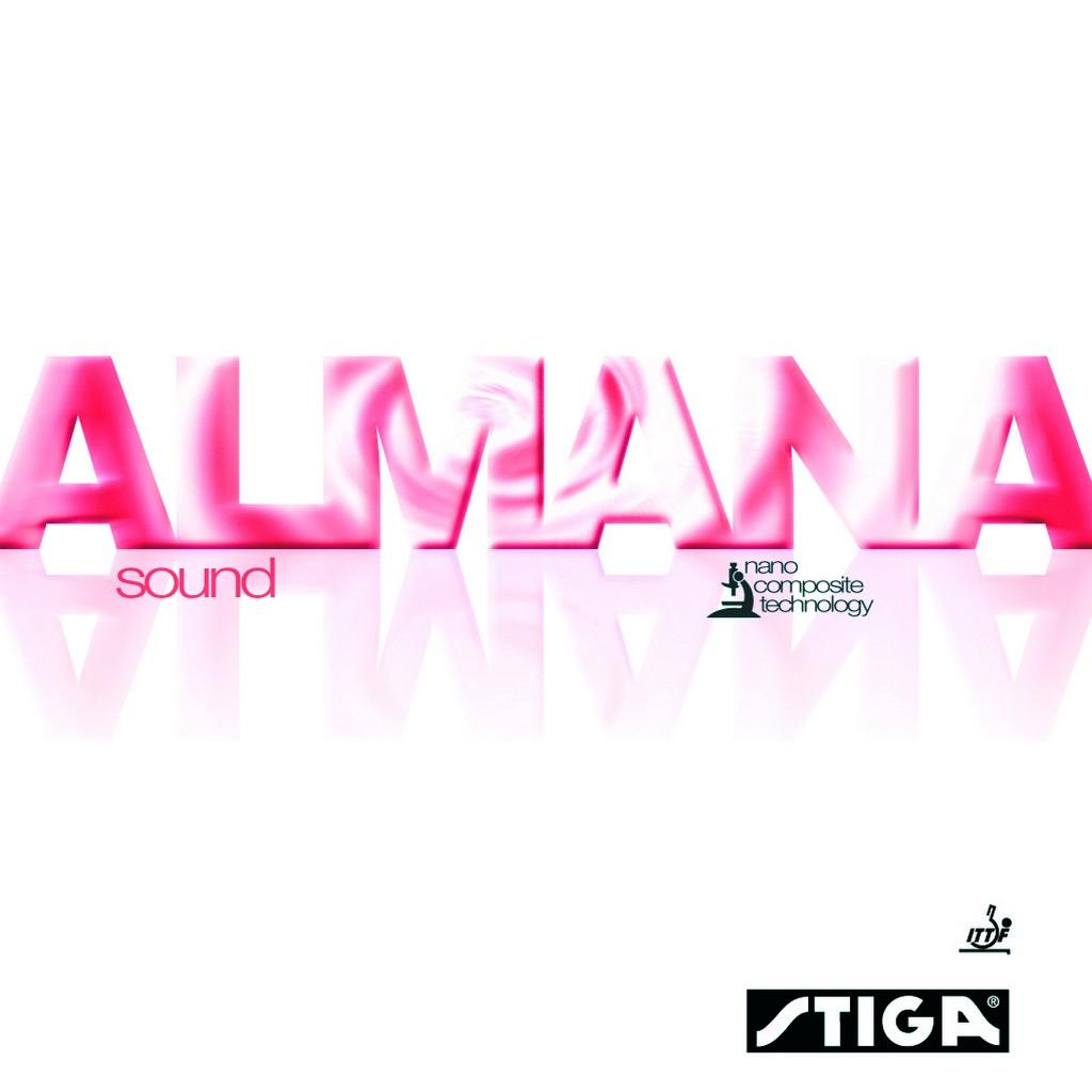Potah STIGA Almana Sound - černá -