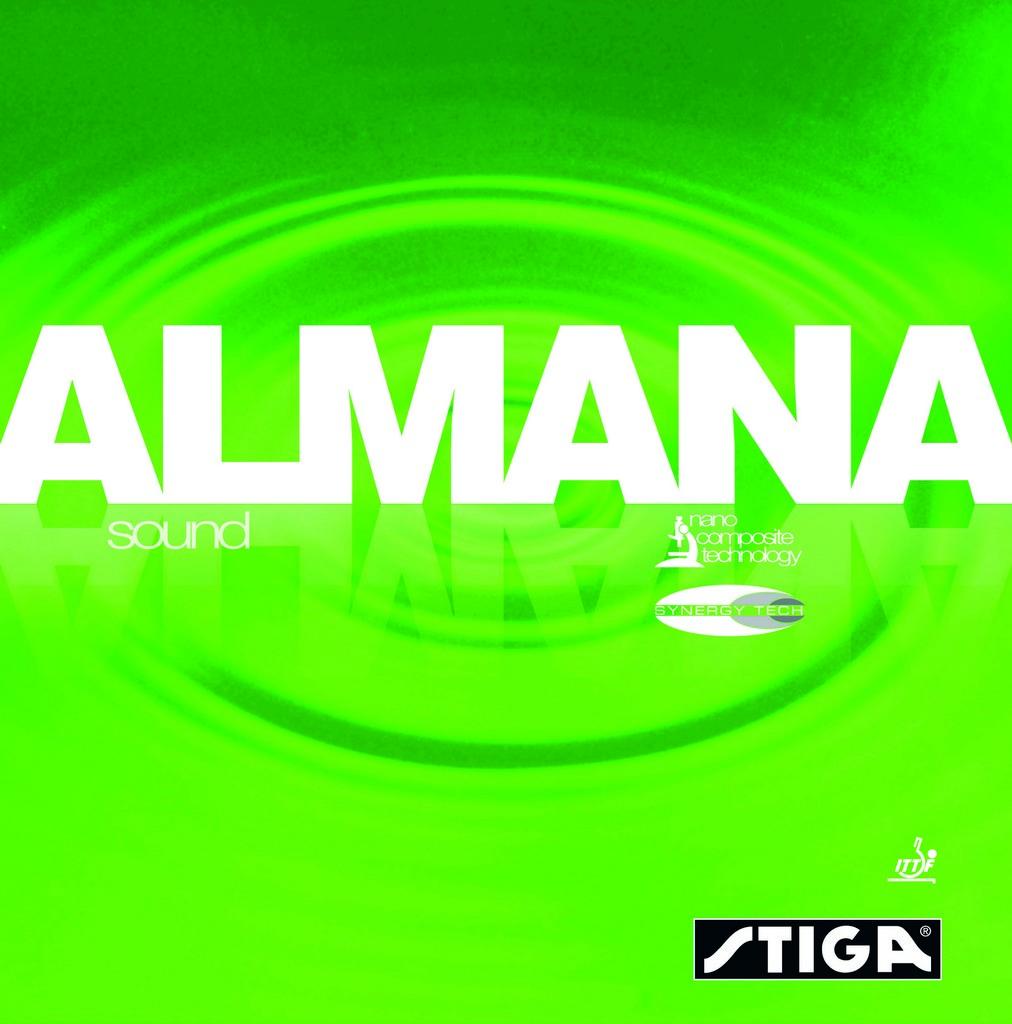 Potah STIGA Almana Sound SynergyTech - černá -
