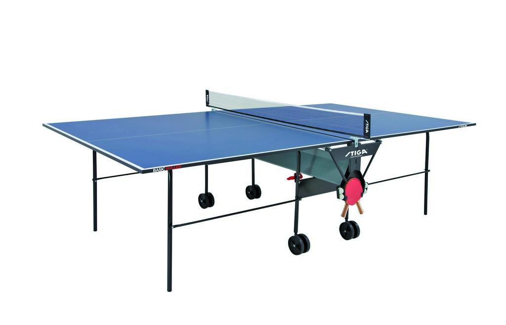 Stůl STIGA Basic Roller - modrá -