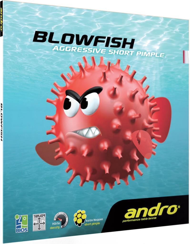 Potah Andro Blowfish - červená -