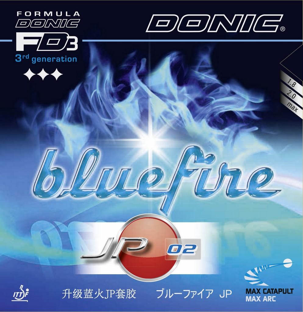 Potah DONIC Bluefire JP 02 - červená -