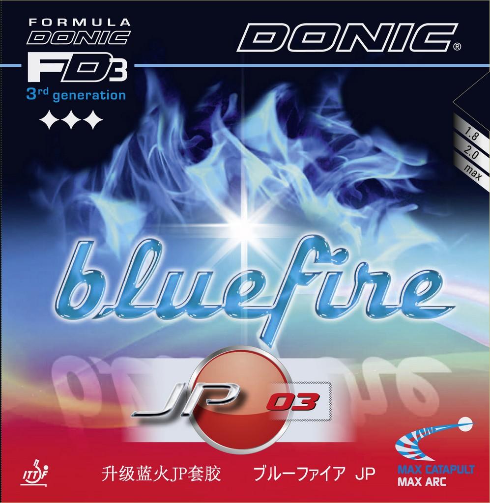 Potah DONIC Bluefire JP 03 - červená -