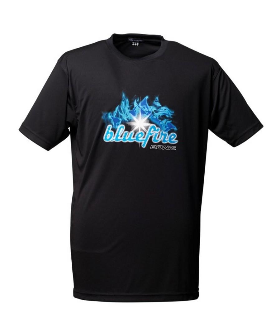 Tričko DONIC Bluefire černé - černá -S