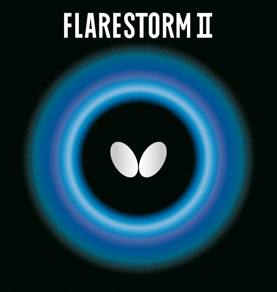 Potah BUTTERFLY Flarestorm II - červená -