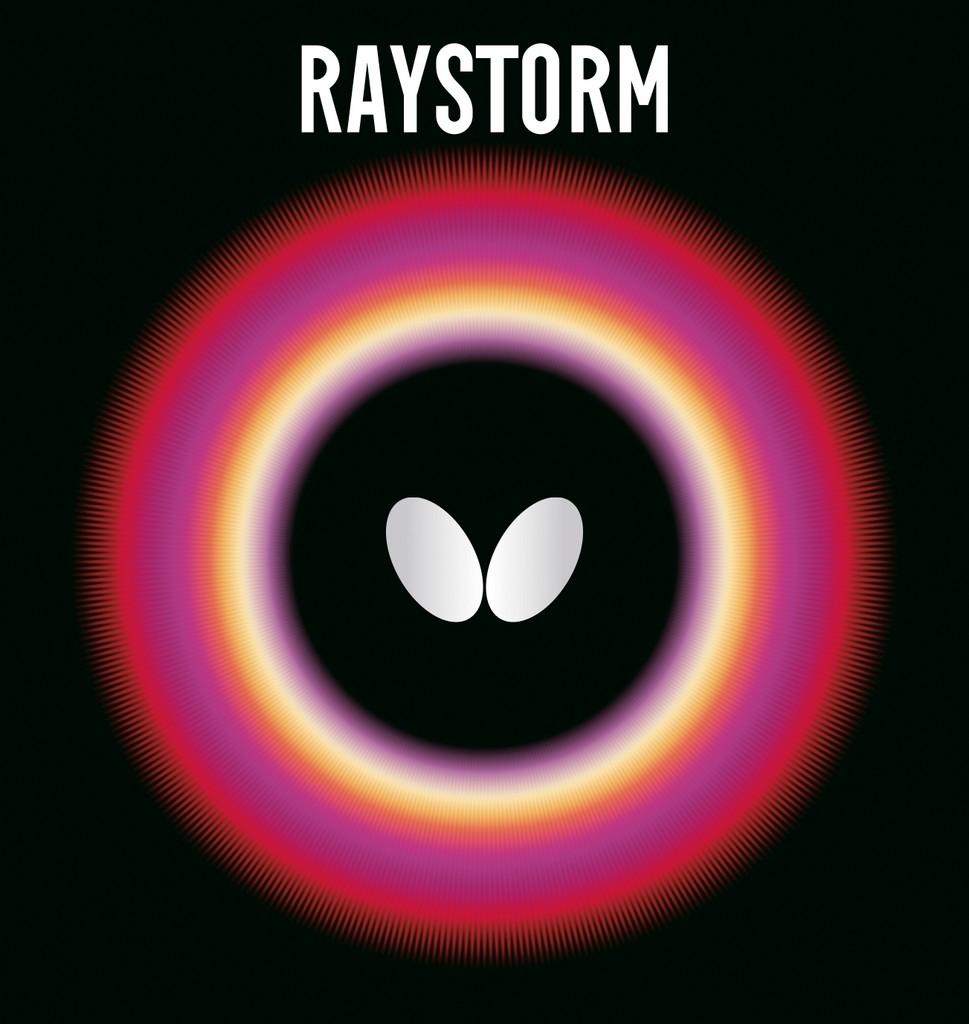 Potah BUTTERFLY Raystorm - červená -