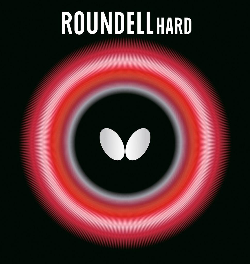 Potah BUTTERFLY Roundell Hard - červená -