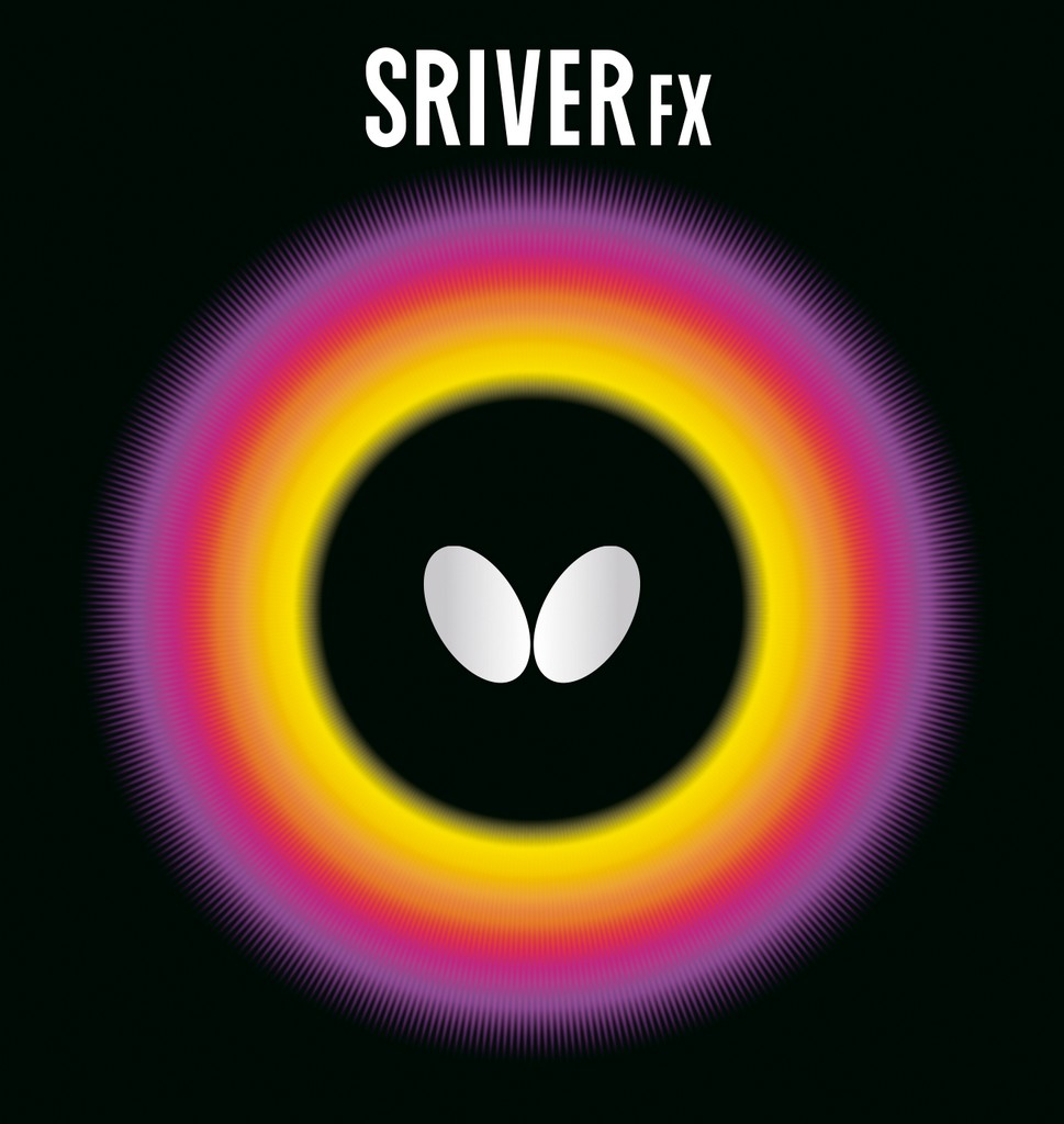Potah BUTTERFLY Sriver FX - černá -