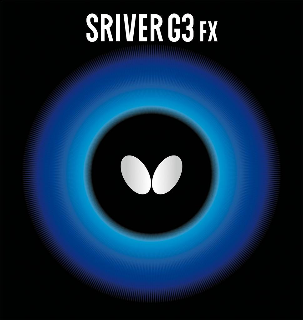 Potah BUTTERFLY Sriver G3 FX - červená -