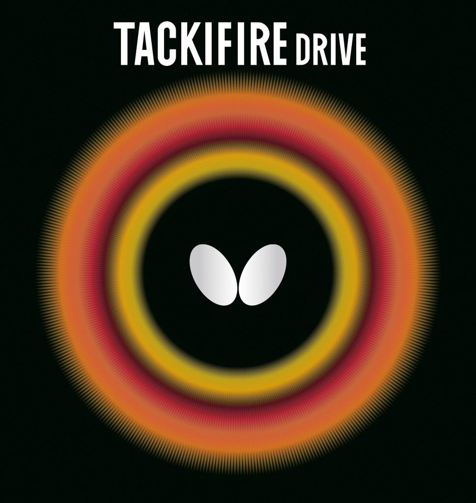 Potah BUTTERFLY Tackifire Drive - červená -