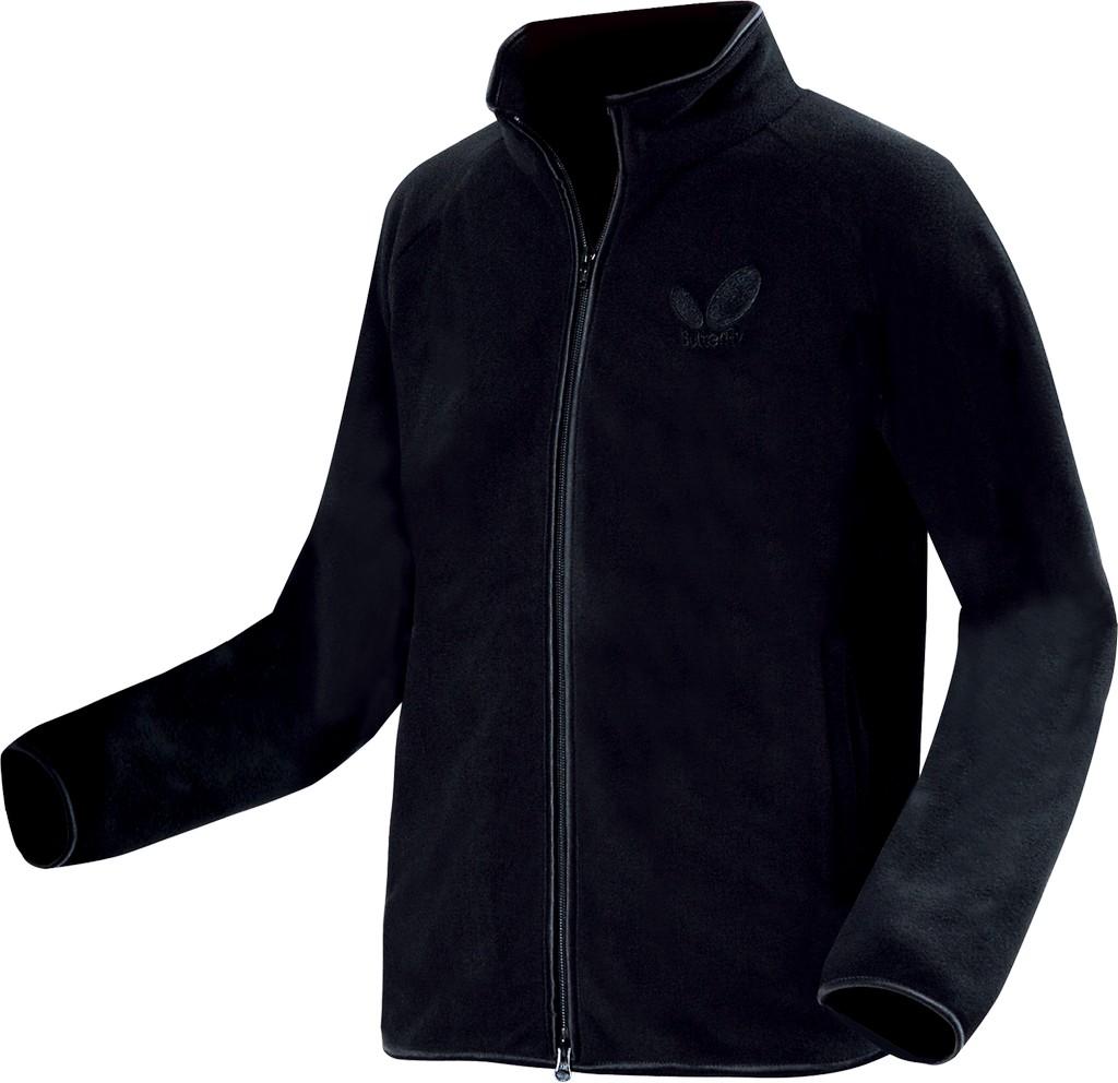 Mikina BUTTERFLY Fleece černá - černá -XS