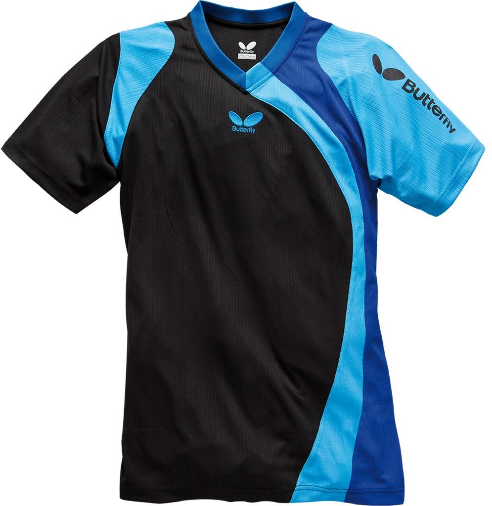 Tričko BUTTERFLY Banjo modré - modrá -XXXXL