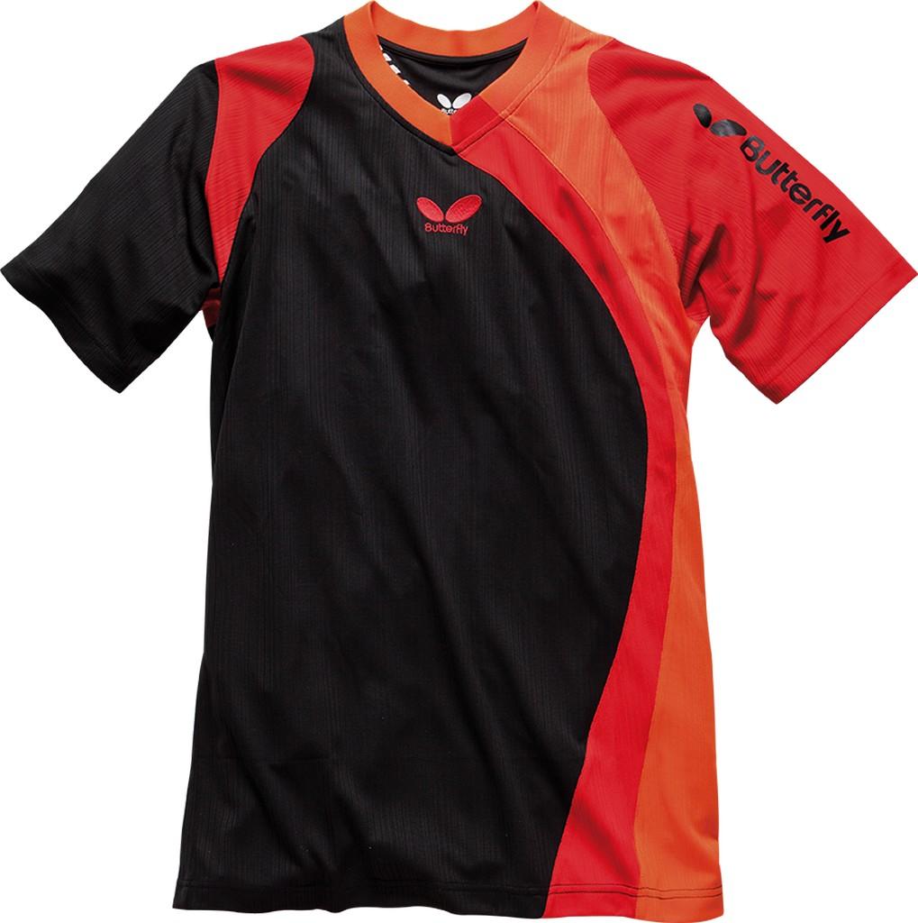 Tričko BUTTERFLY Banjo červené - červená -XXXL