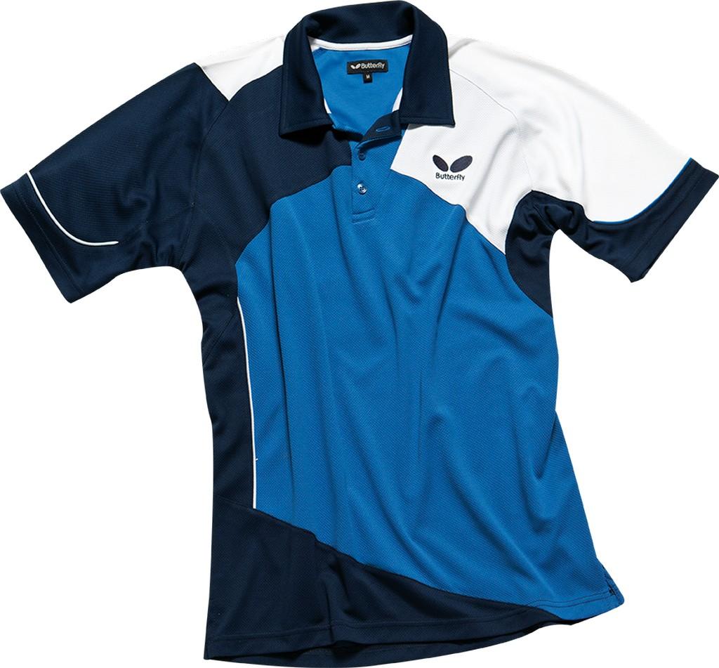 Polokošile BUTTERFLY Toyo modrá - modrá -XXXL