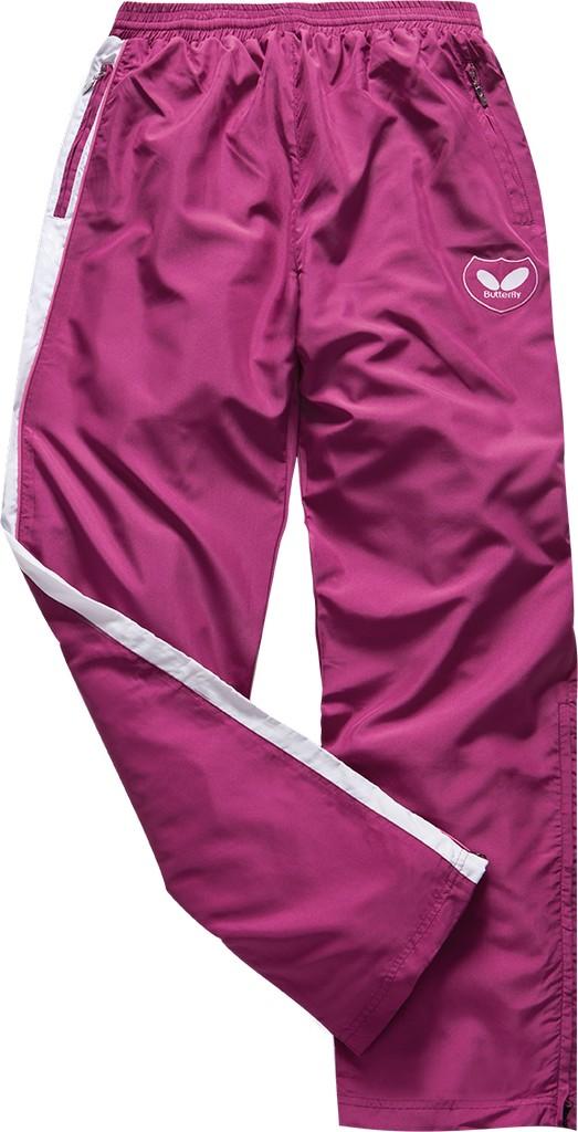 Kalhoty k soupravě BUTTERFLY Kano Lady- růžová - růžová -M