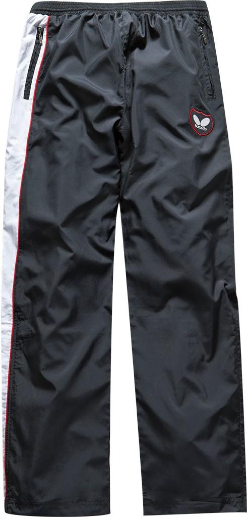 Kalhoty k soupravě BUTTERFLY Kano- červená - červená -M