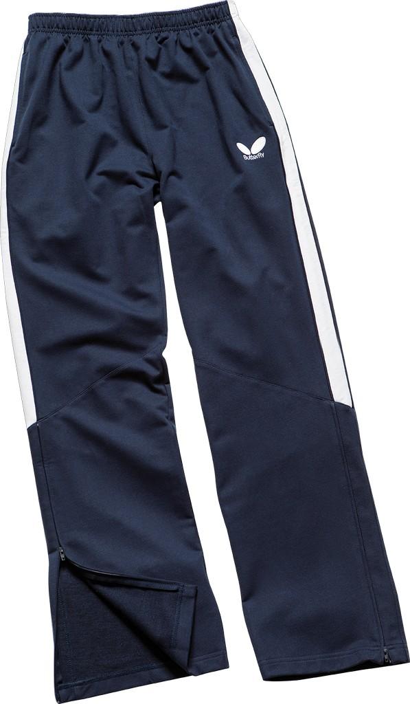 Kalhoty k soupravě BUTTERFLY Kuji- modrá - modrá -XS