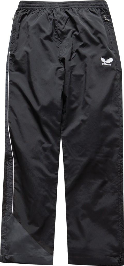 Kalhoty k soupravě BUTTERFLY Toyo- černá - černá -XS