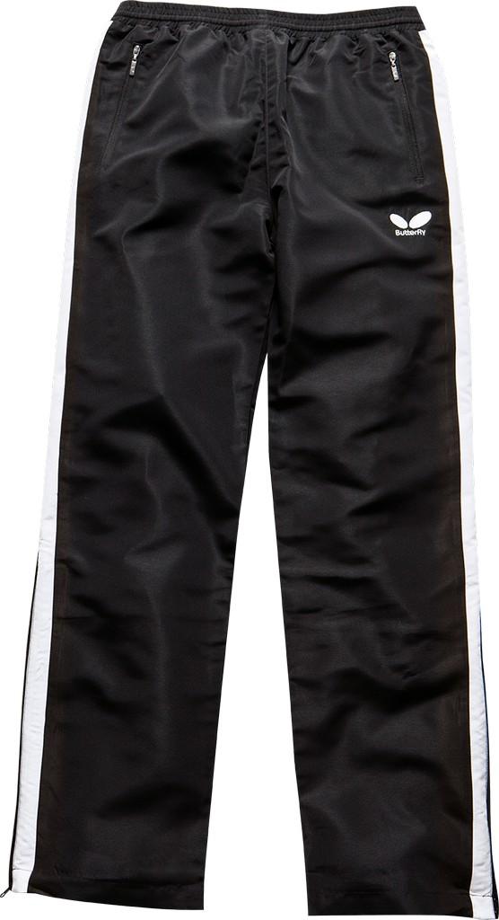 Kalhoty k soupravě BUTTERFLY Xero- černá - černá -XXL