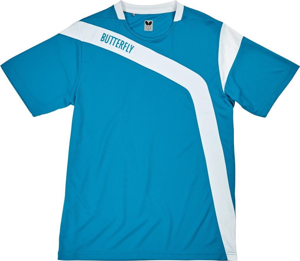 Polokošile BUTTERFLY Yasu modrá - modrá -128