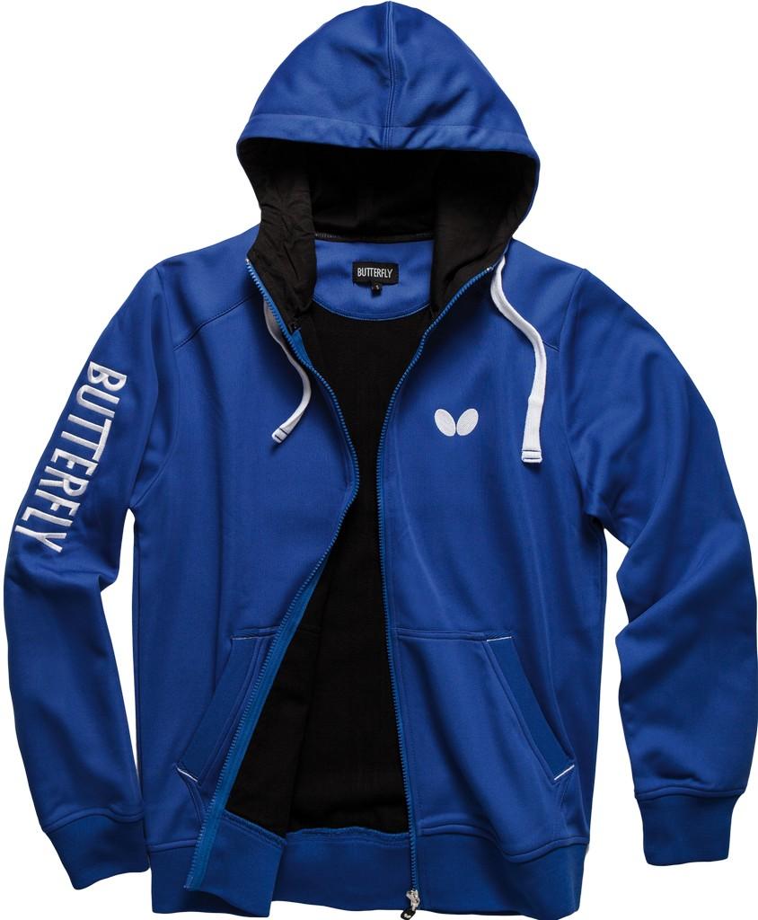 Bunda k soupravě BUTTERFLY Ninyo - modrá - modrá -XL