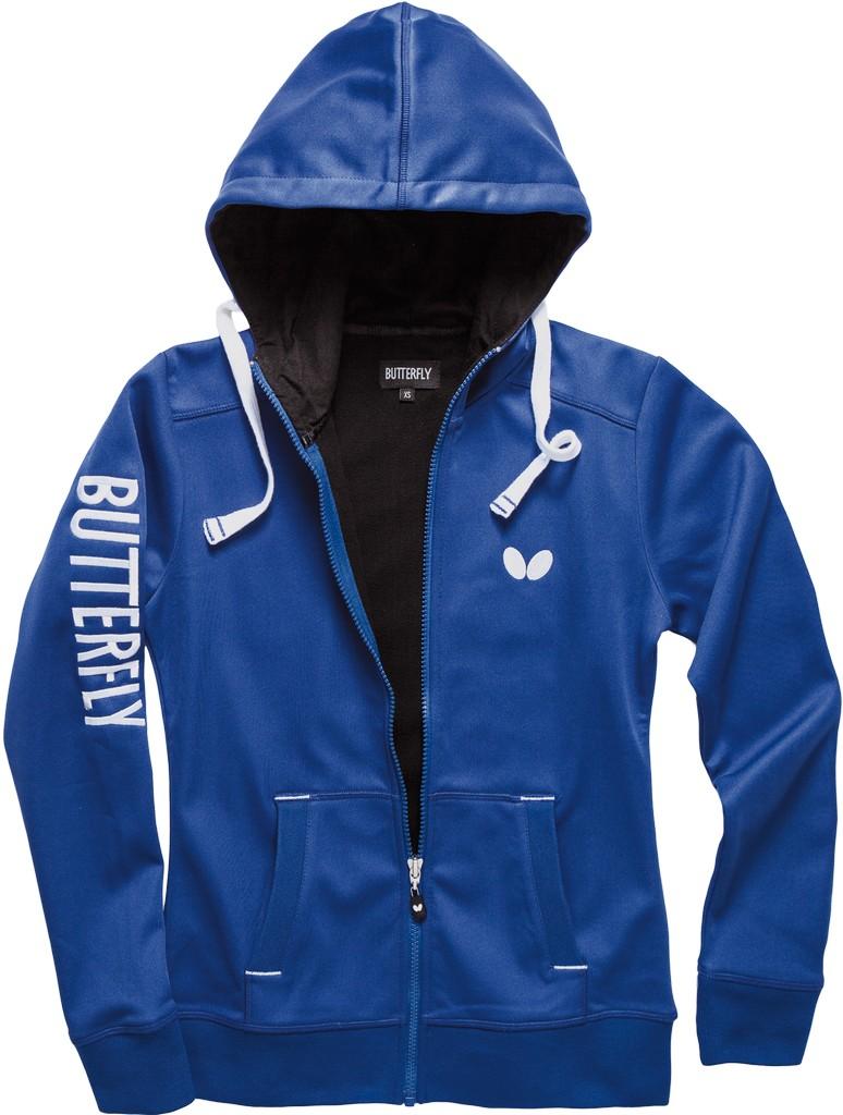 Bunda k soupravě BUTTERFLY Ninyo Lady - modrá - modrá -XL