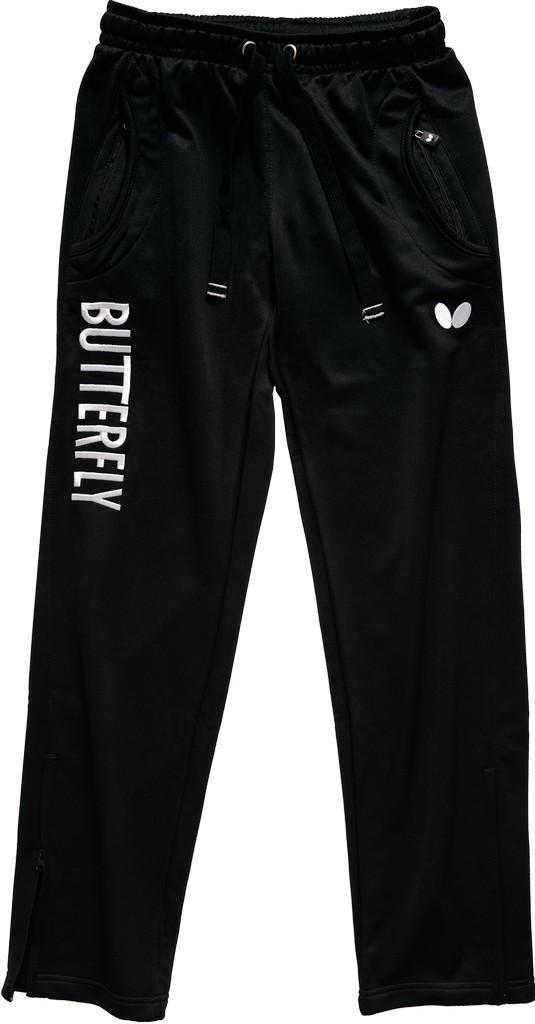 Kalhoty k soupravě BUTTERFLY Ninyo Lady- černá - černá -XL