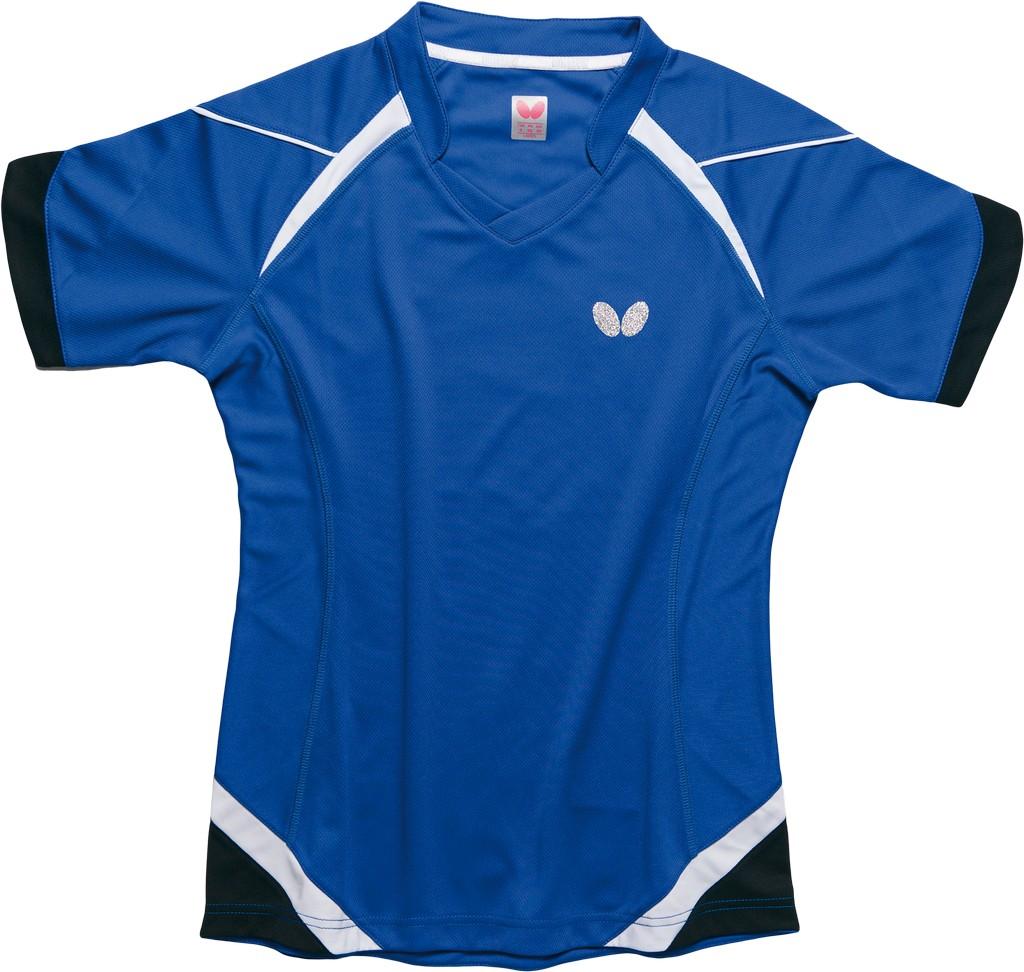 Polokošile BUTTERFLY Kido Lady modrá - modrá -L
