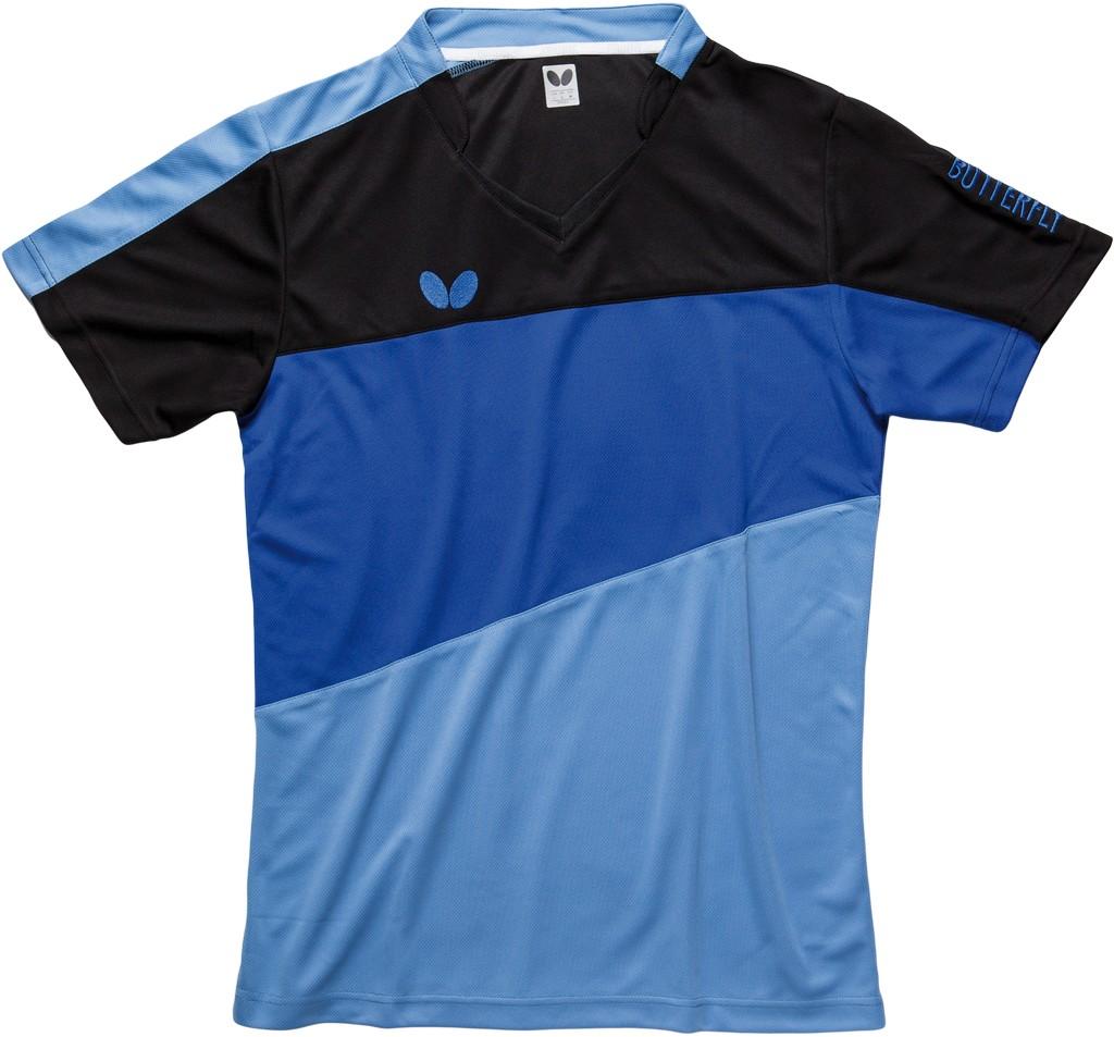 Polokošile BUTTERFLY Koki modrá - modrá -XXXXL