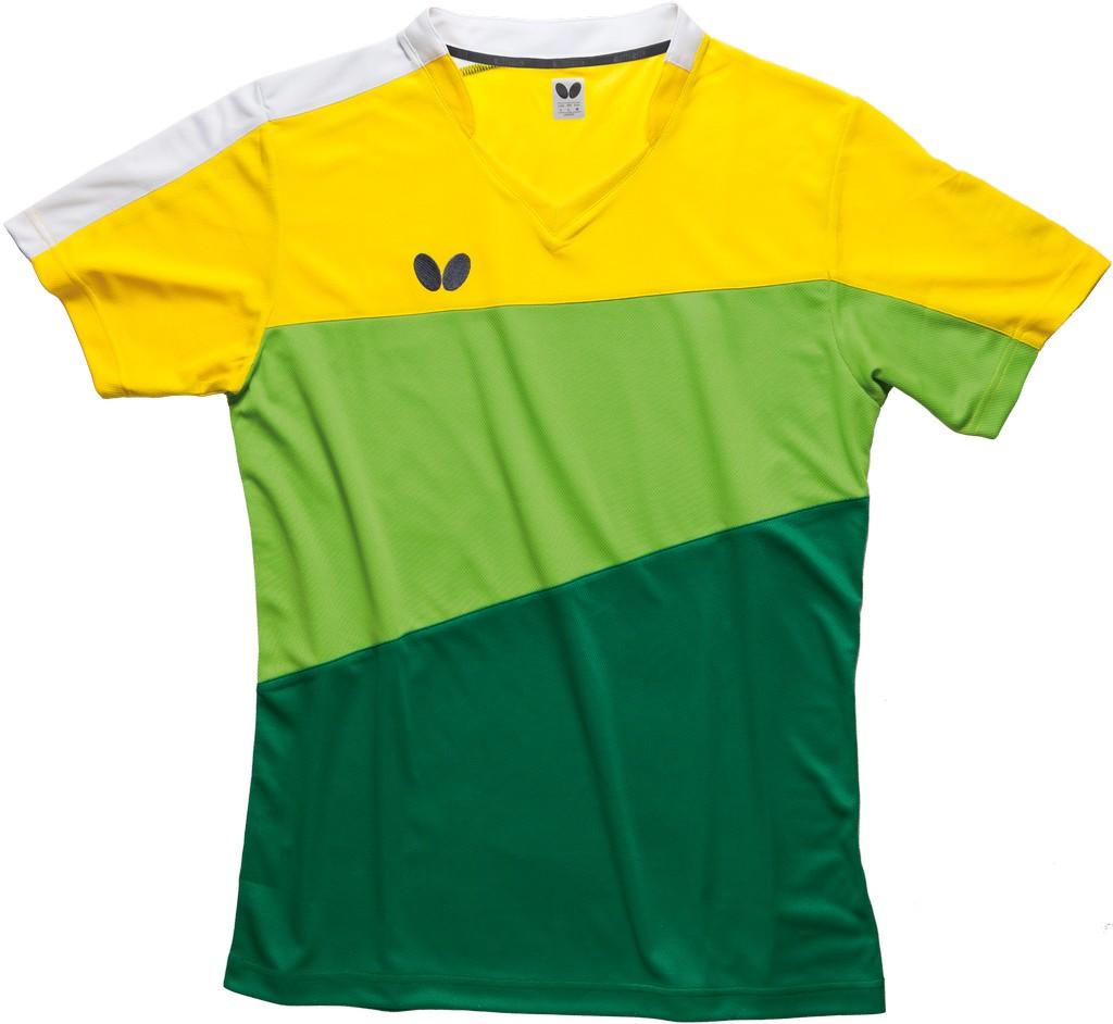 Polokošile BUTTERFLY Koki zelená - zelená -XXL