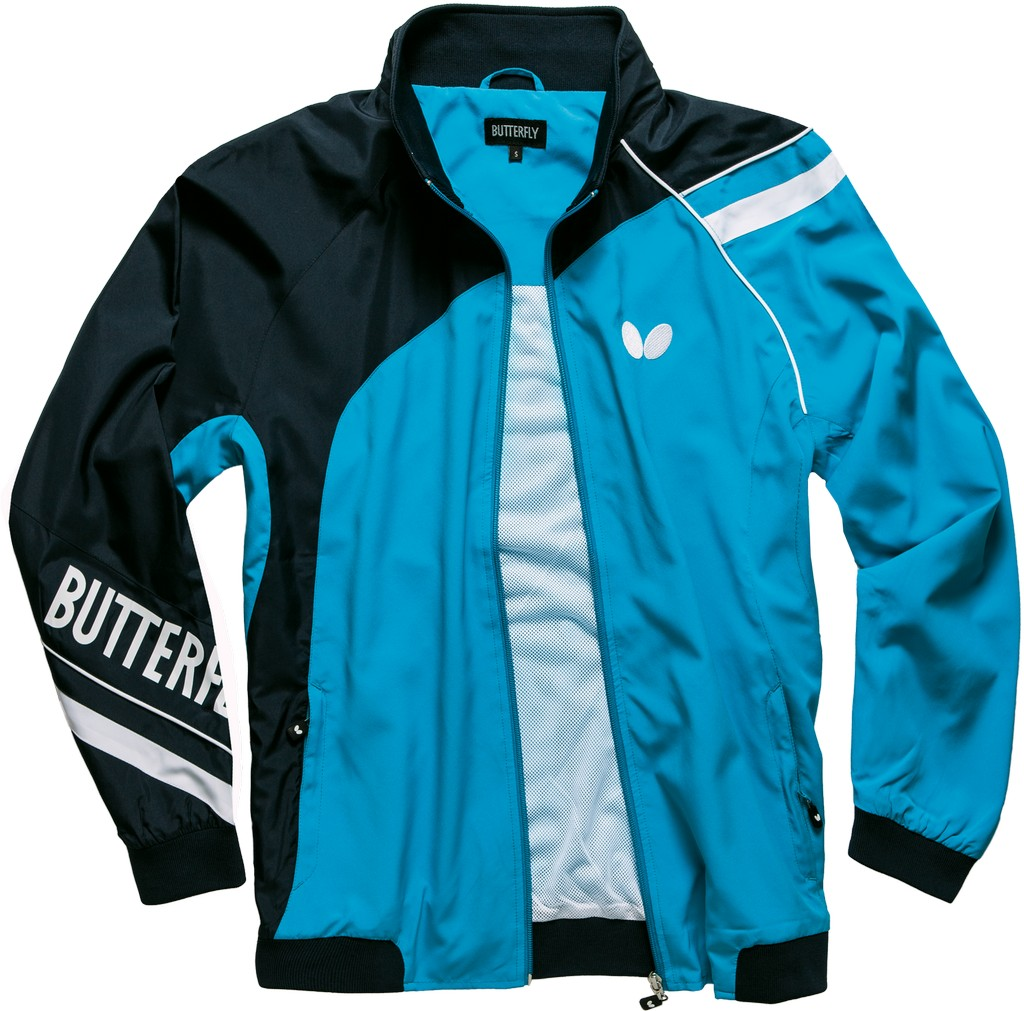 Bunda k soupravě BUTTERFLY Taori - modrá - modrá -XL