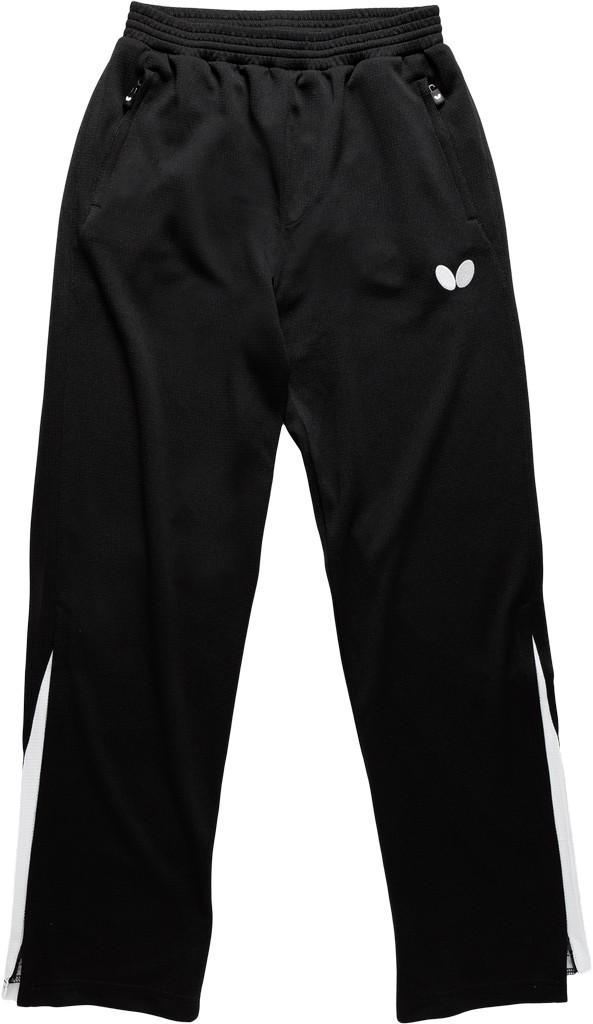 Kalhoty k soupravě BUTTERFLY Kido- černá - černá -XL