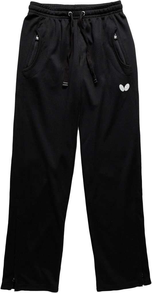 Kalhoty k soupravě BUTTERFLY Kido Lady- černá - černá -XL