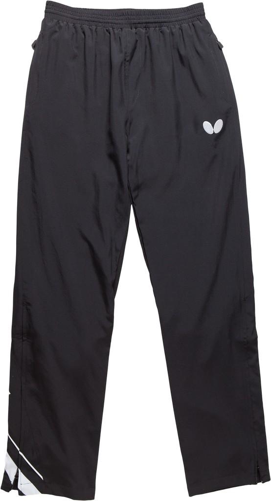 Kalhoty k soupravě BUTTERFLY Taori- černá - černá -XS