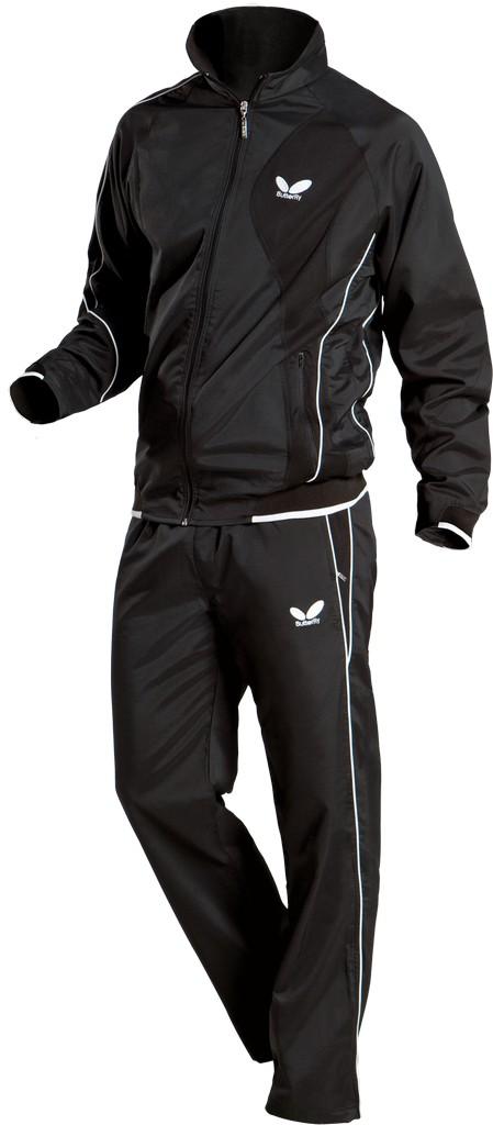 Kalhoty k soupravě BUTTERFLY Io- černá - černá -128