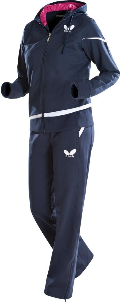 Kalhoty k soupravě BUTTERFLY Liora Lady- tmavě modrá - tmavě modrá -M