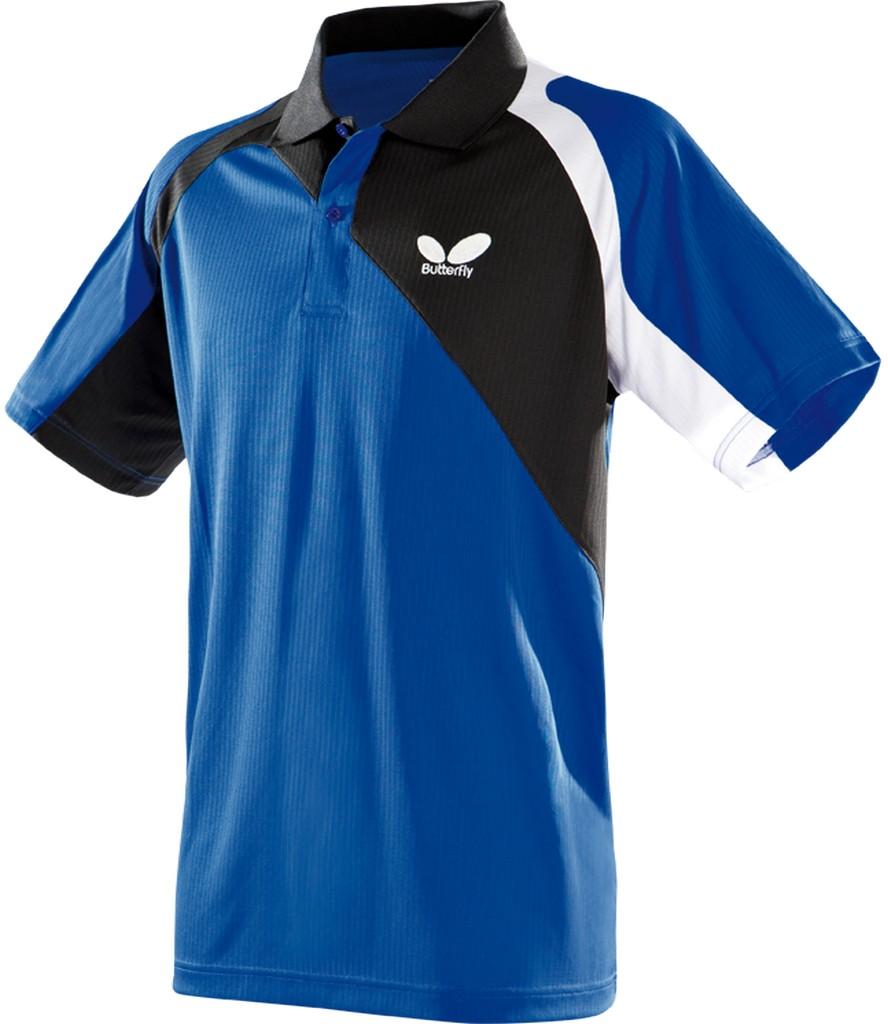 Polokošile BUTTERFLY Passo modrá - modrá -XXXXL