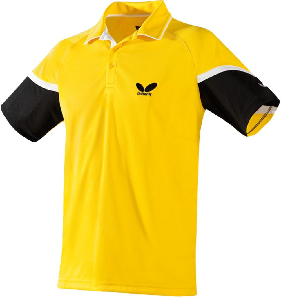 Polokošile BUTTERFLY Xero žlutá - žlutá -XXXXL
