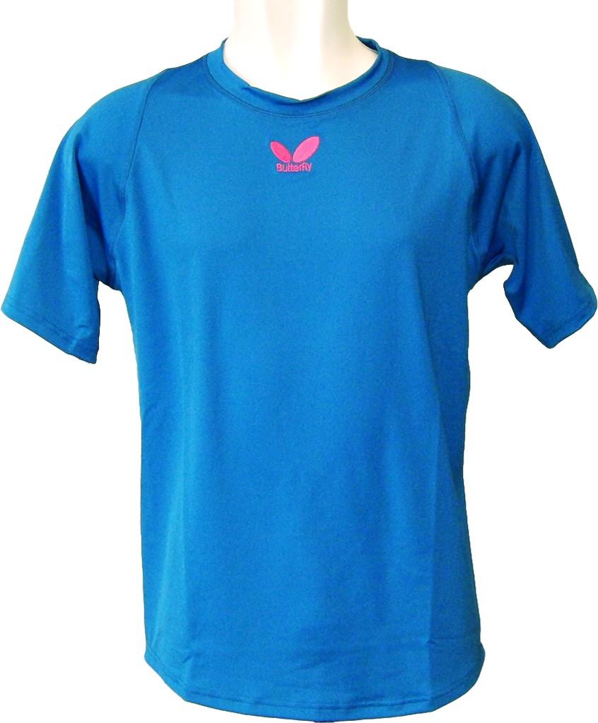 Tričko BUTTERFLY Chou modré - modrá -XXXL