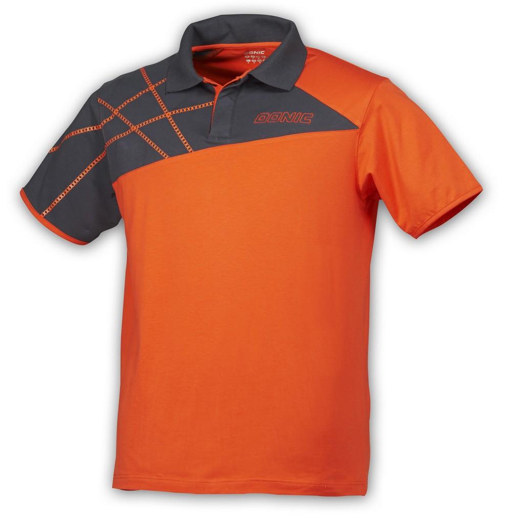 Polokošile Donic Californiaflex oranžová - oranžová -M