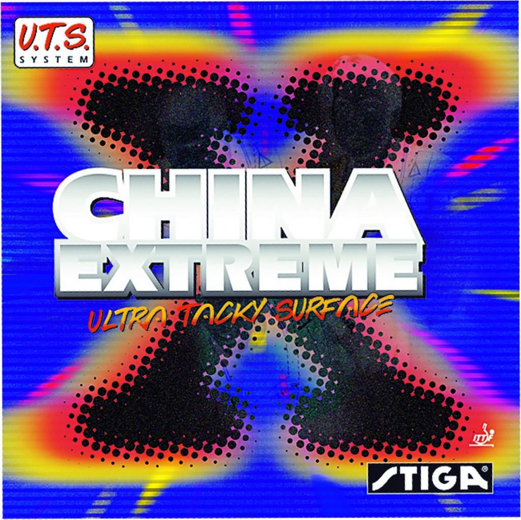 Potah STIGA China Extreme - černá -
