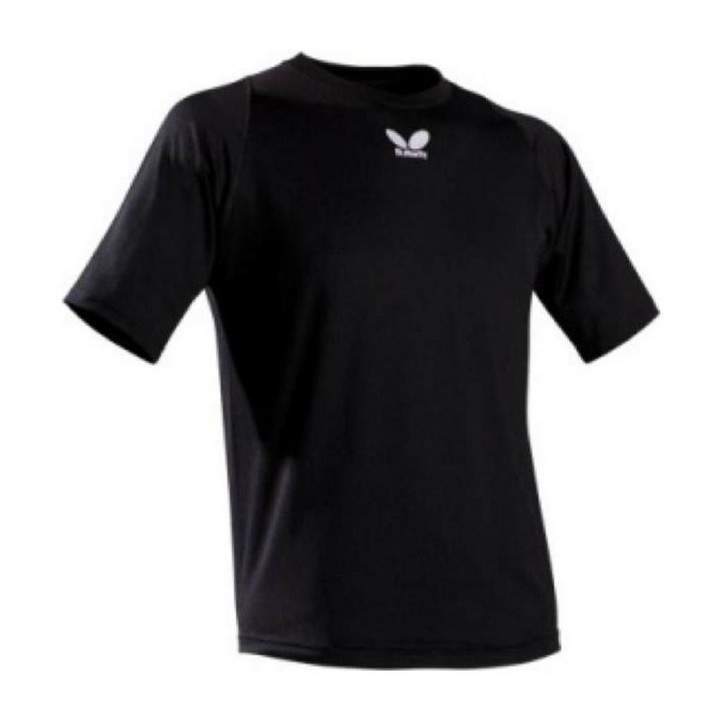 Tričko BUTTERFLY Chou černé - černá -XL