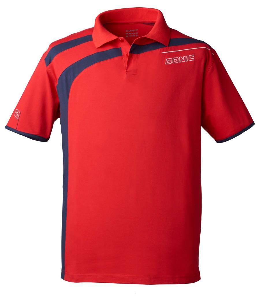 Polokošile Donic Cooperflex červená - červená -XXXXL