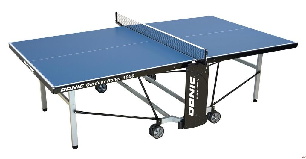 Stůl DONIC Outdoor Roller 1000 - modrá -