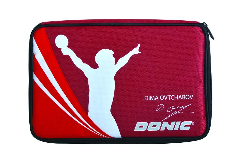 Pouzdro DONIC Ovtcharov Plus - červená -