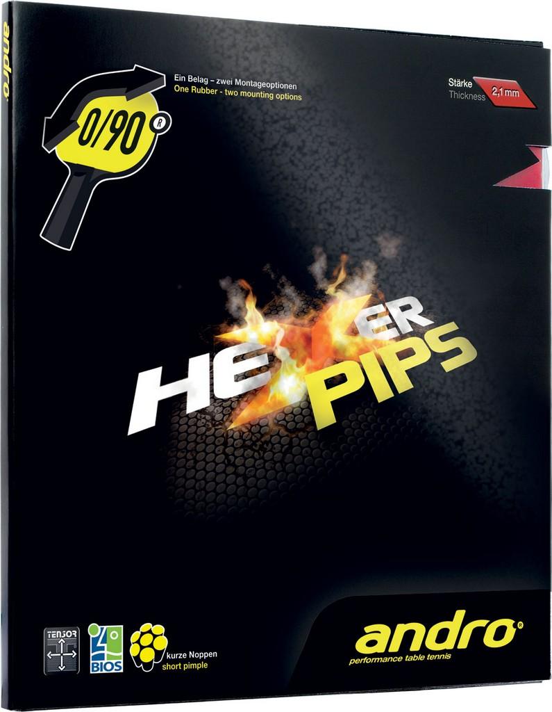 Potah Andro Hexer PIPS - červená -