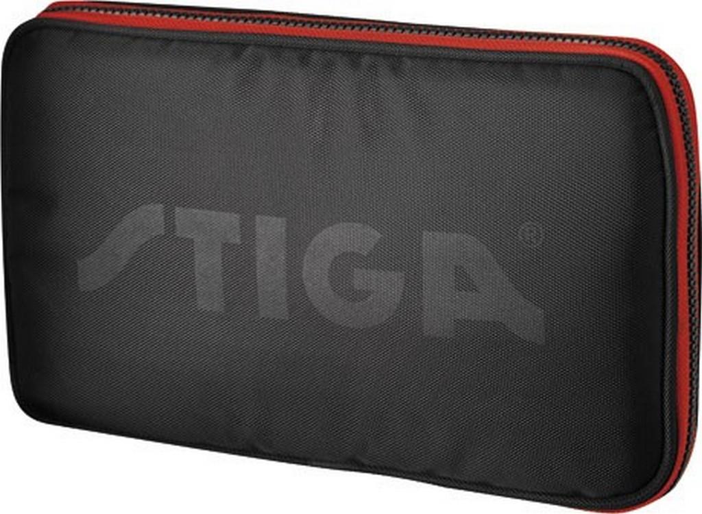 Pouzdro STIGA Image obdélník - černá s červenou -
