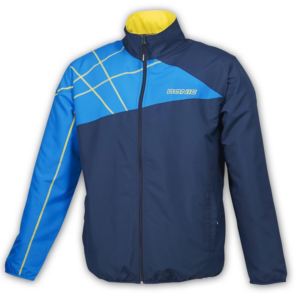 Bunda k soupravě Donic Minnesota - tmavě modrá - tmavě modrá -L