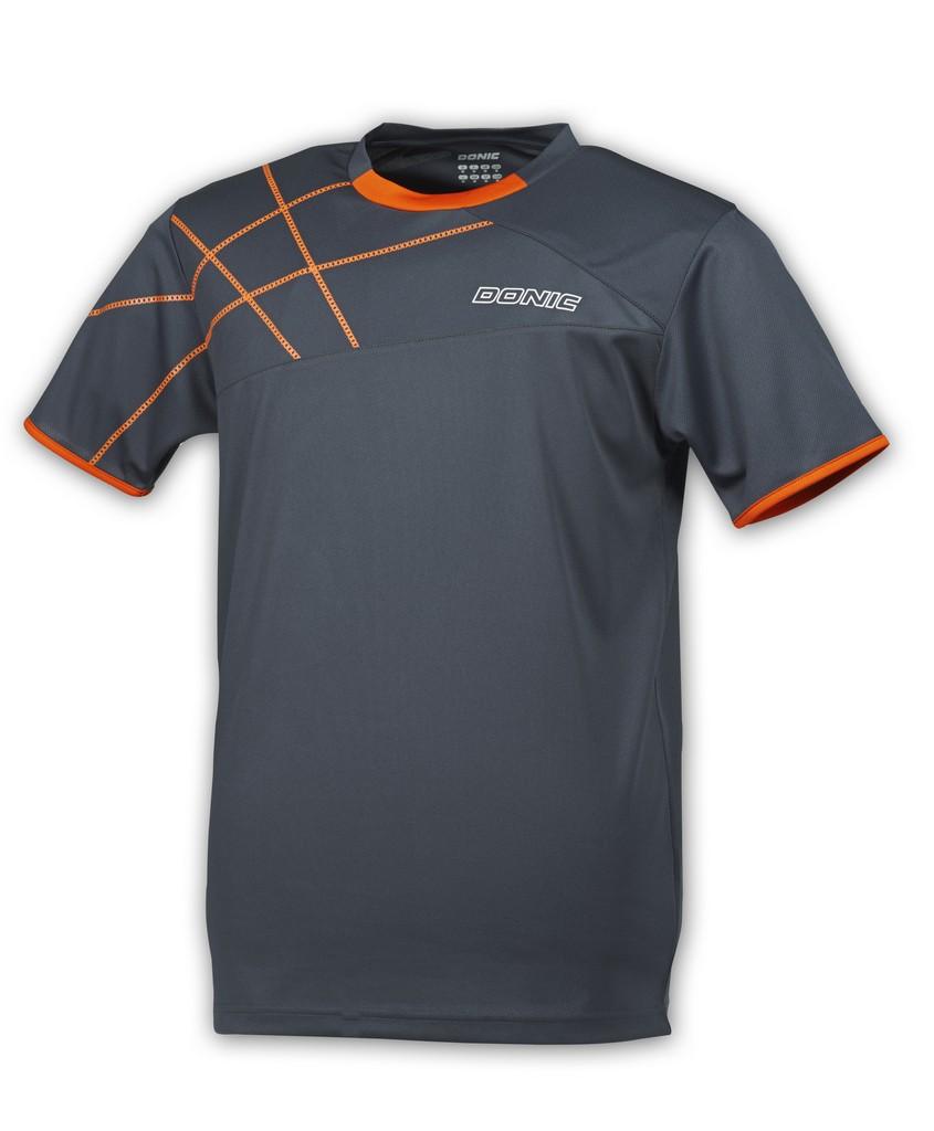 Tričko Tričko DONIC Kentucky antracitové - antracitová -140