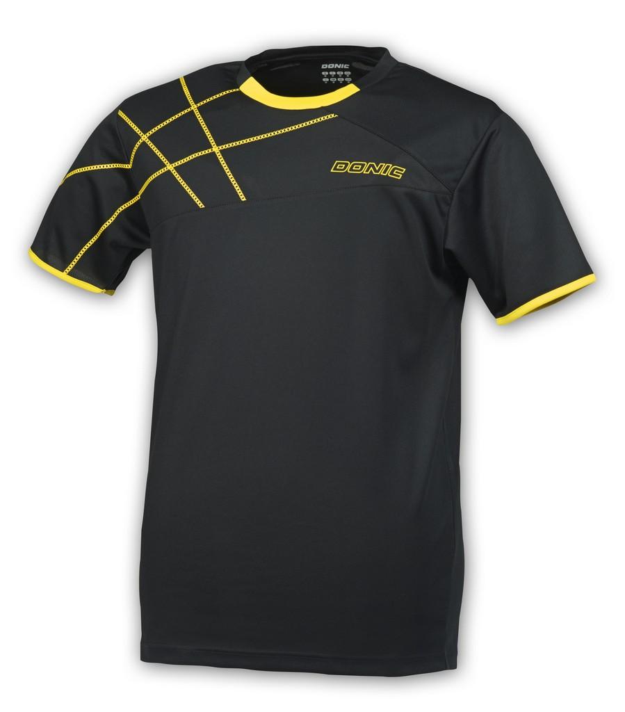 Tričko Tričko Donic Kentucky černé - černá -140