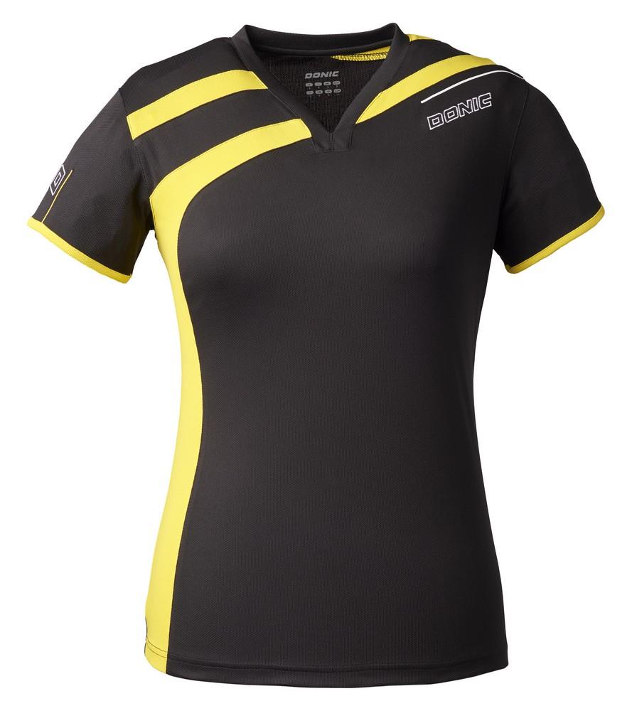 Tričko Donic Switch černé - černá -XL
